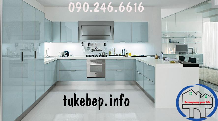 Tủ bếp đẹp 074