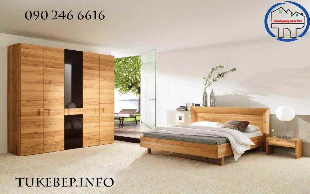 Giường ngủ gỗ 119