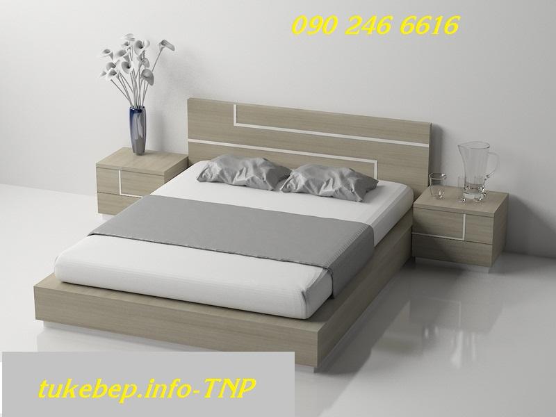 Giường ngủ gỗ 127