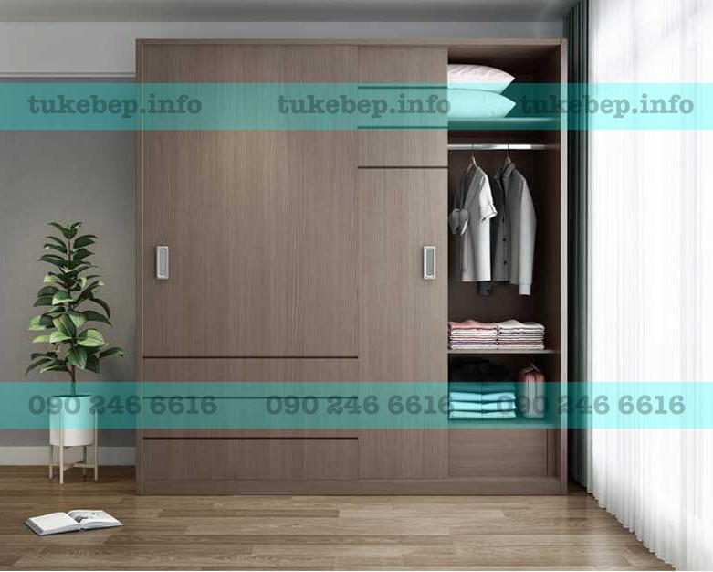 Tủ áo gỗ 160