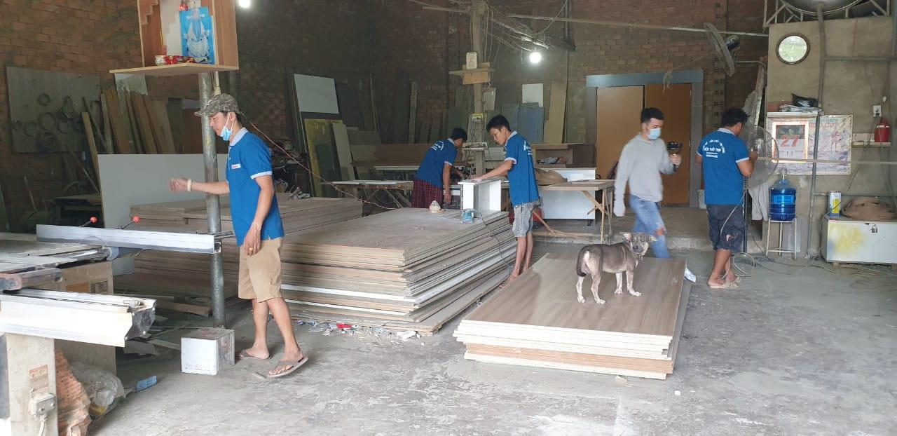 Sản xuất thi công trọn gói nội thất