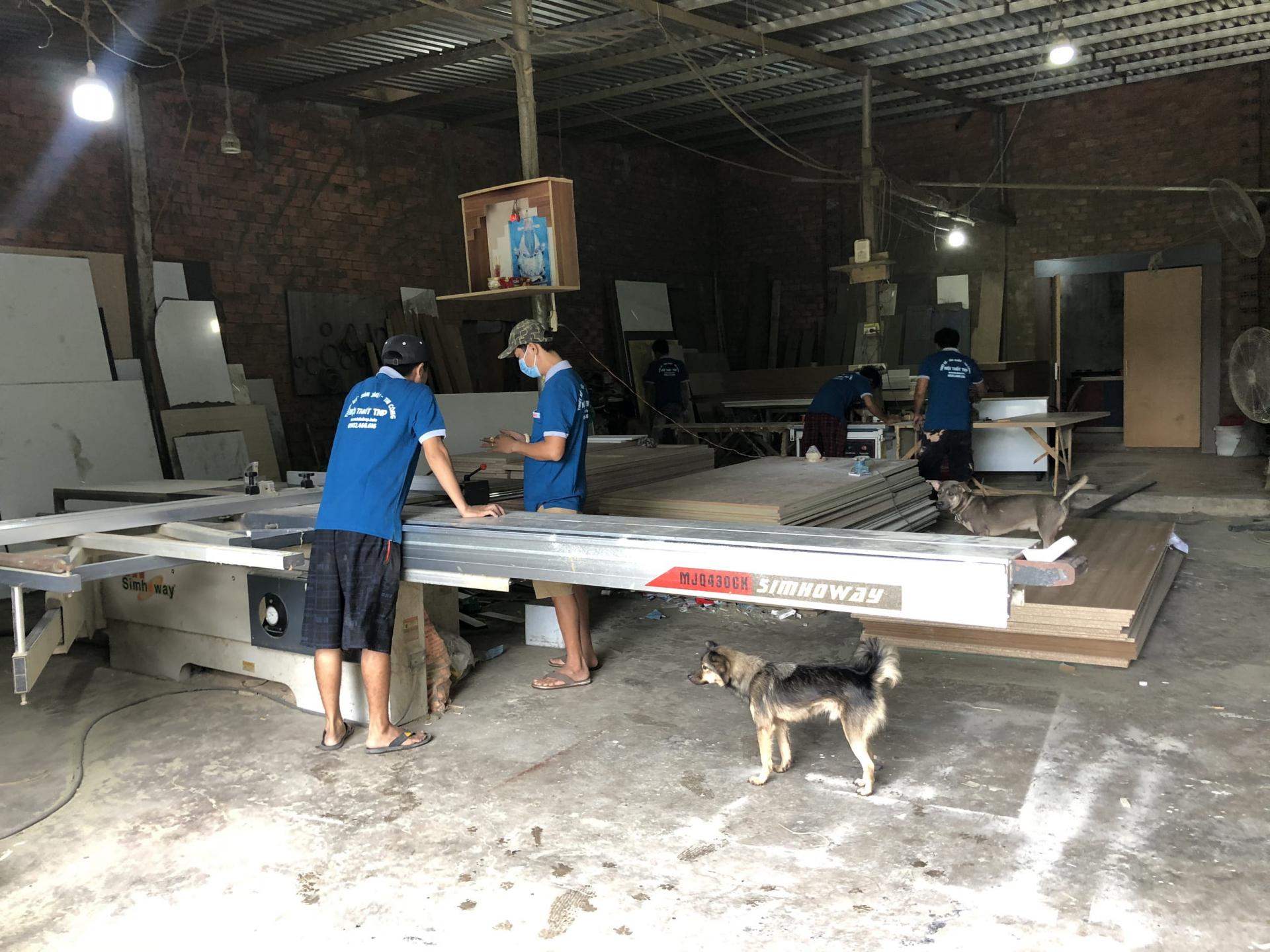 Xưởng sản xuất đảm bảo an toàn mùa dịch covid
